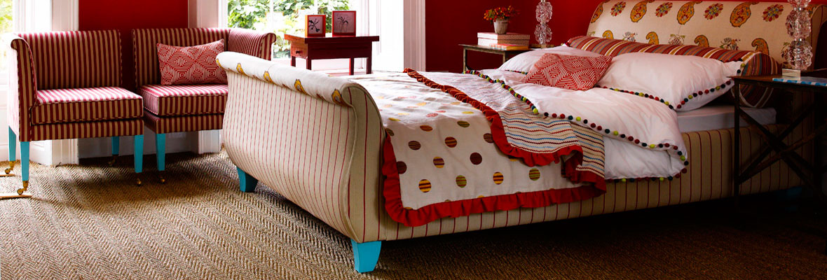 Bed with Designer Wooden Furniture Legs