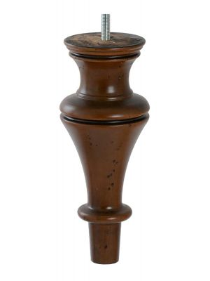 Demi Classic Turned Furniture Legs Antique Brown