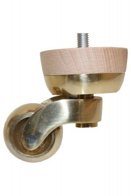 Gail Furniture Legs with Large Shallow Castors